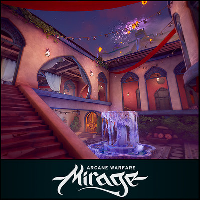 Mirage: Arcane Warfare - Bloodmoon Map