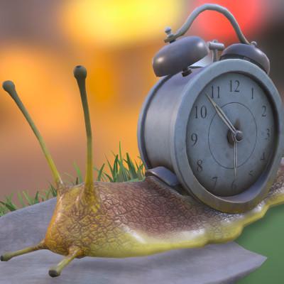 Clock Snail