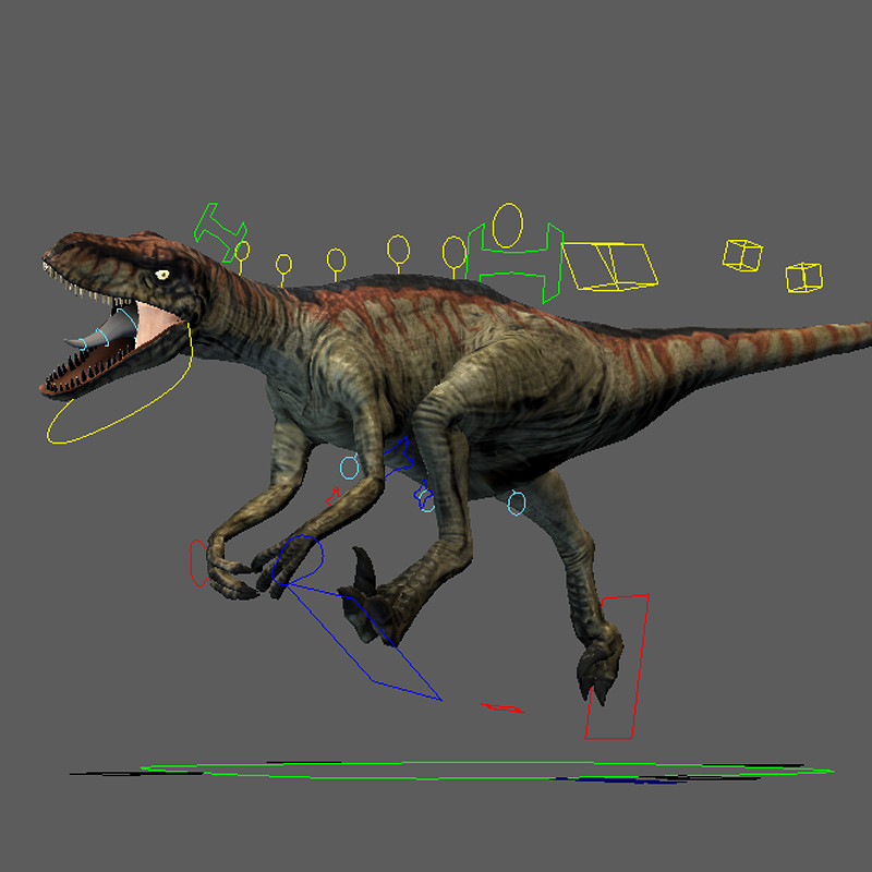 Lost World Returns - Raptor Rig