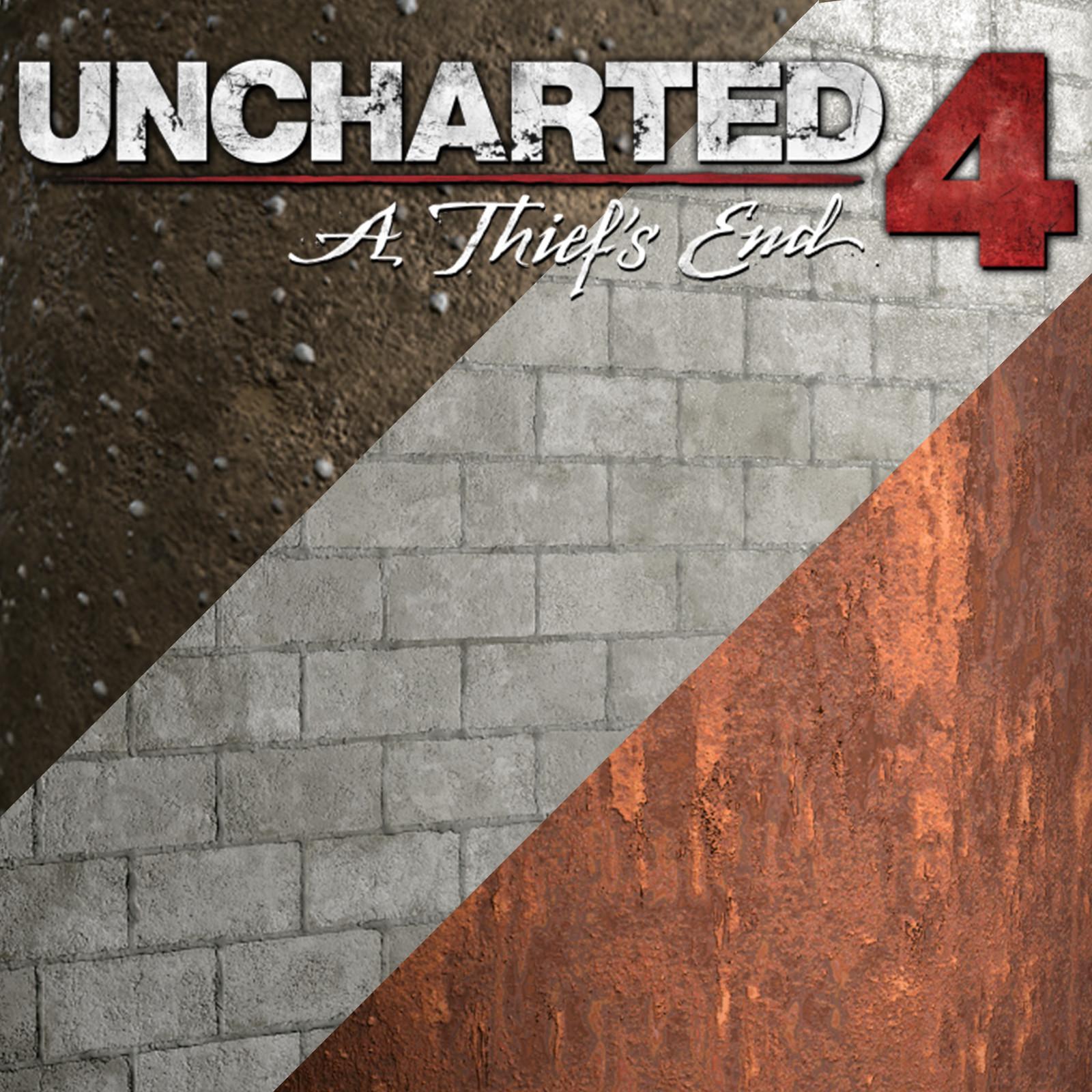 Uncharted 4 Prison Escape Level Textures