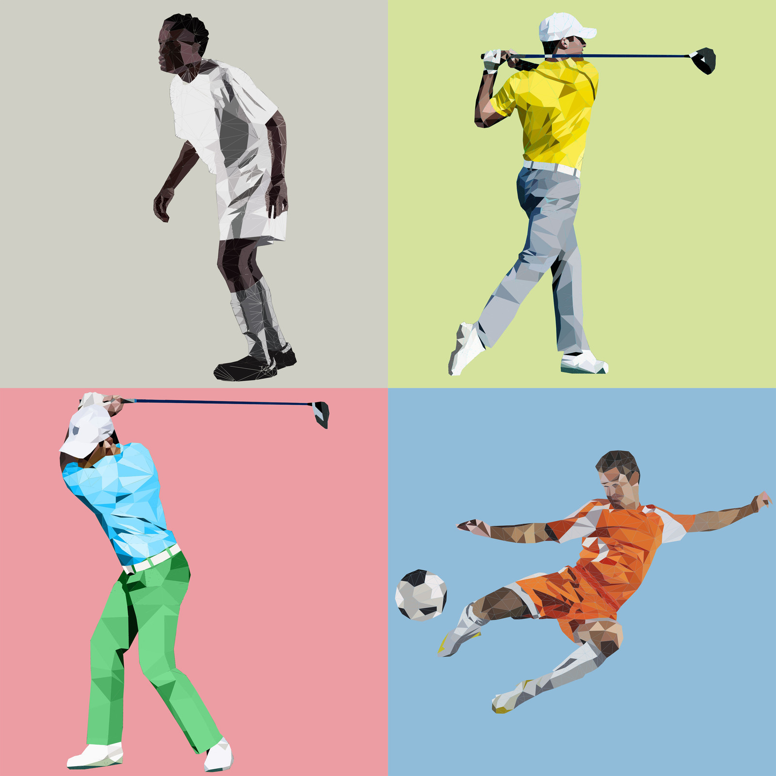 WIRED & Microsoft: Sport Innovation (illustrations)