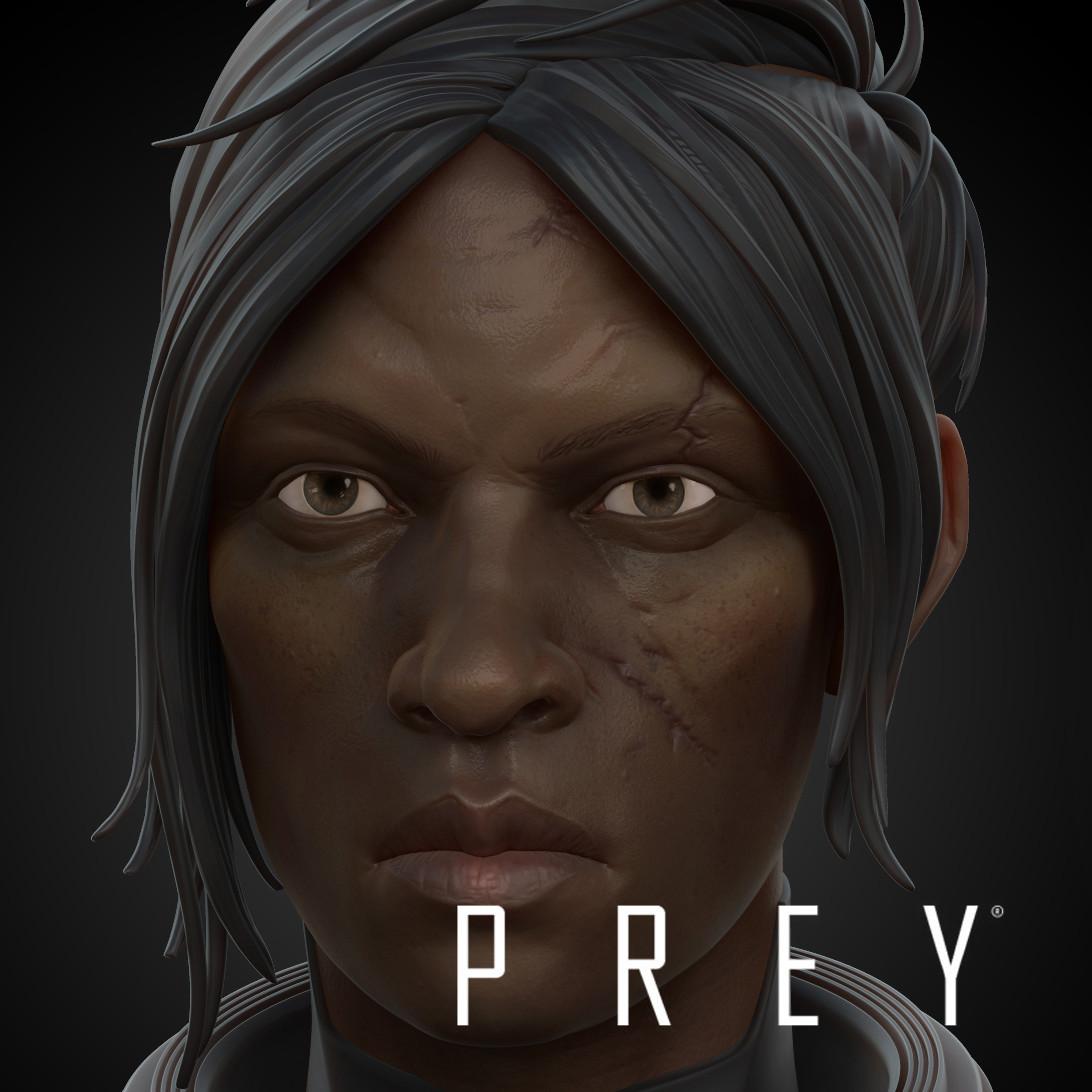 Sarai Elazar - Prey - Head Texture
