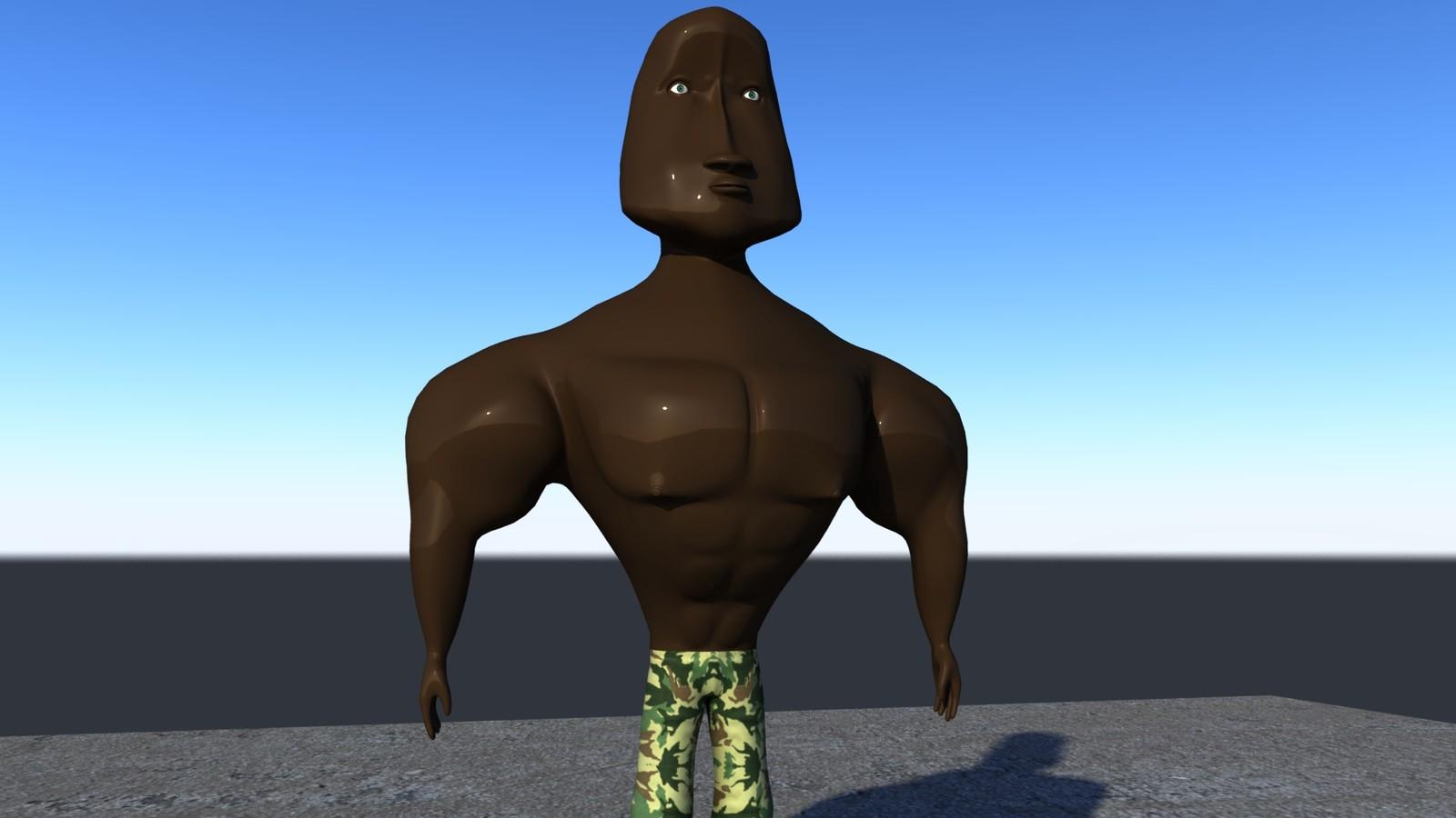 Musa 3D Model
