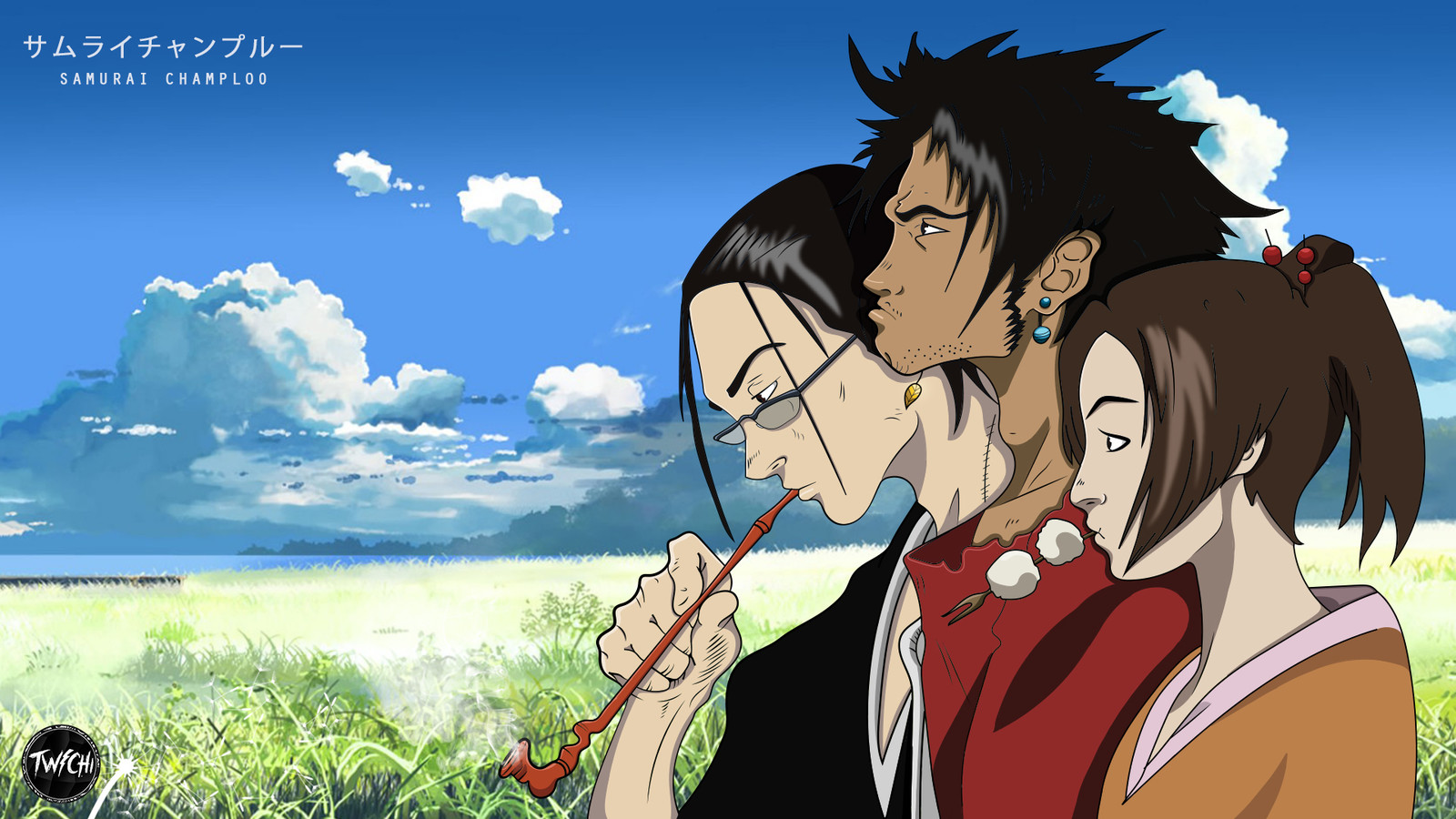 Samurai Champloo Anime Illustration