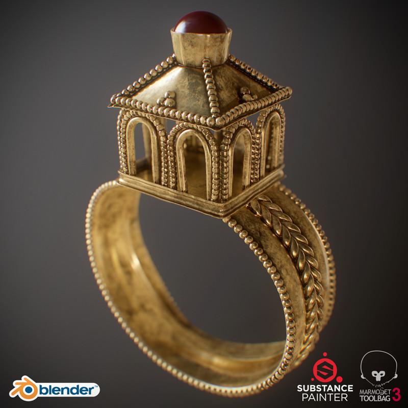 Models: Ancient Golden Ring