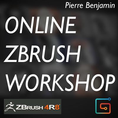 ONLINE ZBrush WORKSHOP - Summer 2017 - NOT 2018