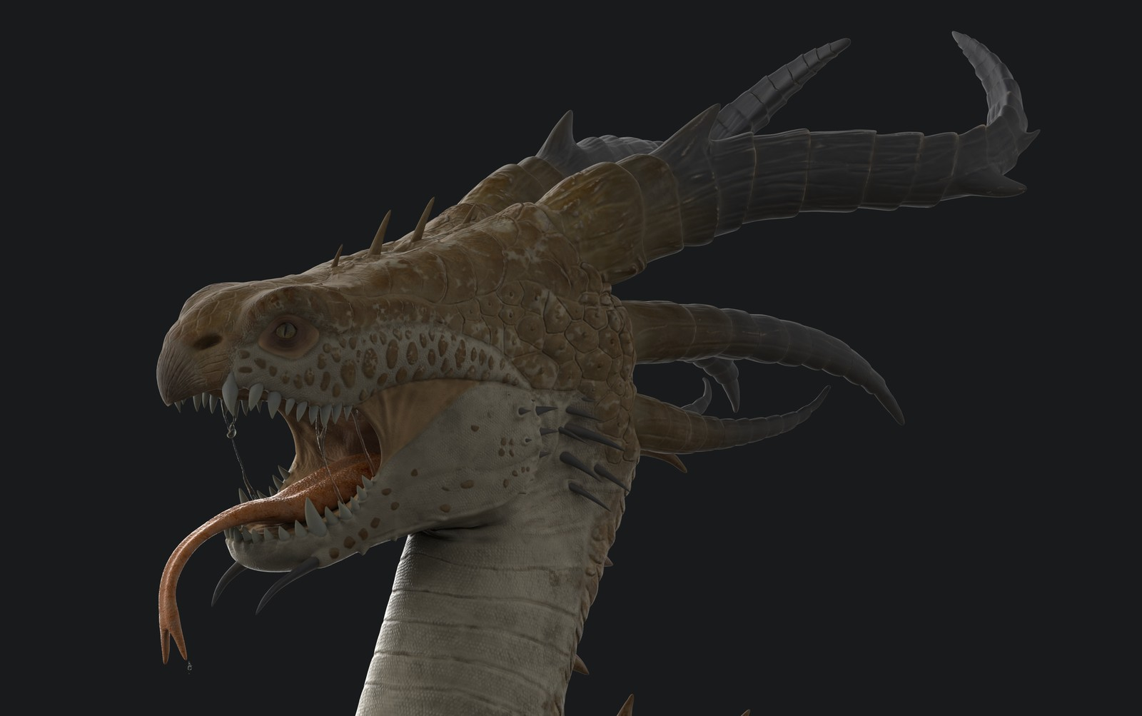 Dragon Creature Project Animum 3d / Participant of CGTrader Awards