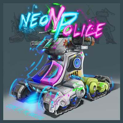 Jeanne price neonpoliceart