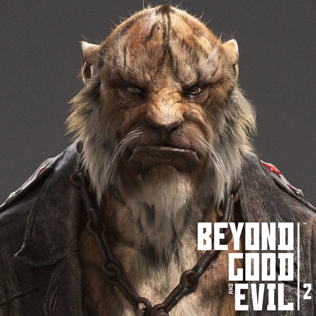 Tiger from Beyond Good and Evil 2