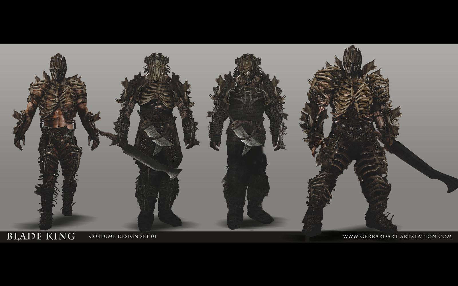 BLADE KING : COSTUME DESIGNS / SET 02