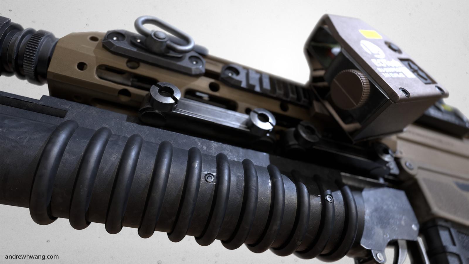 ACR Assualt rifle