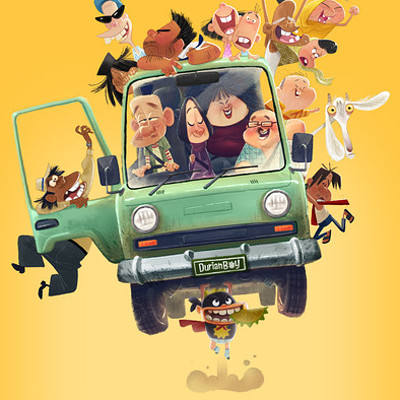 Dermot walshe dermot walshe db flying truck poster credits 1