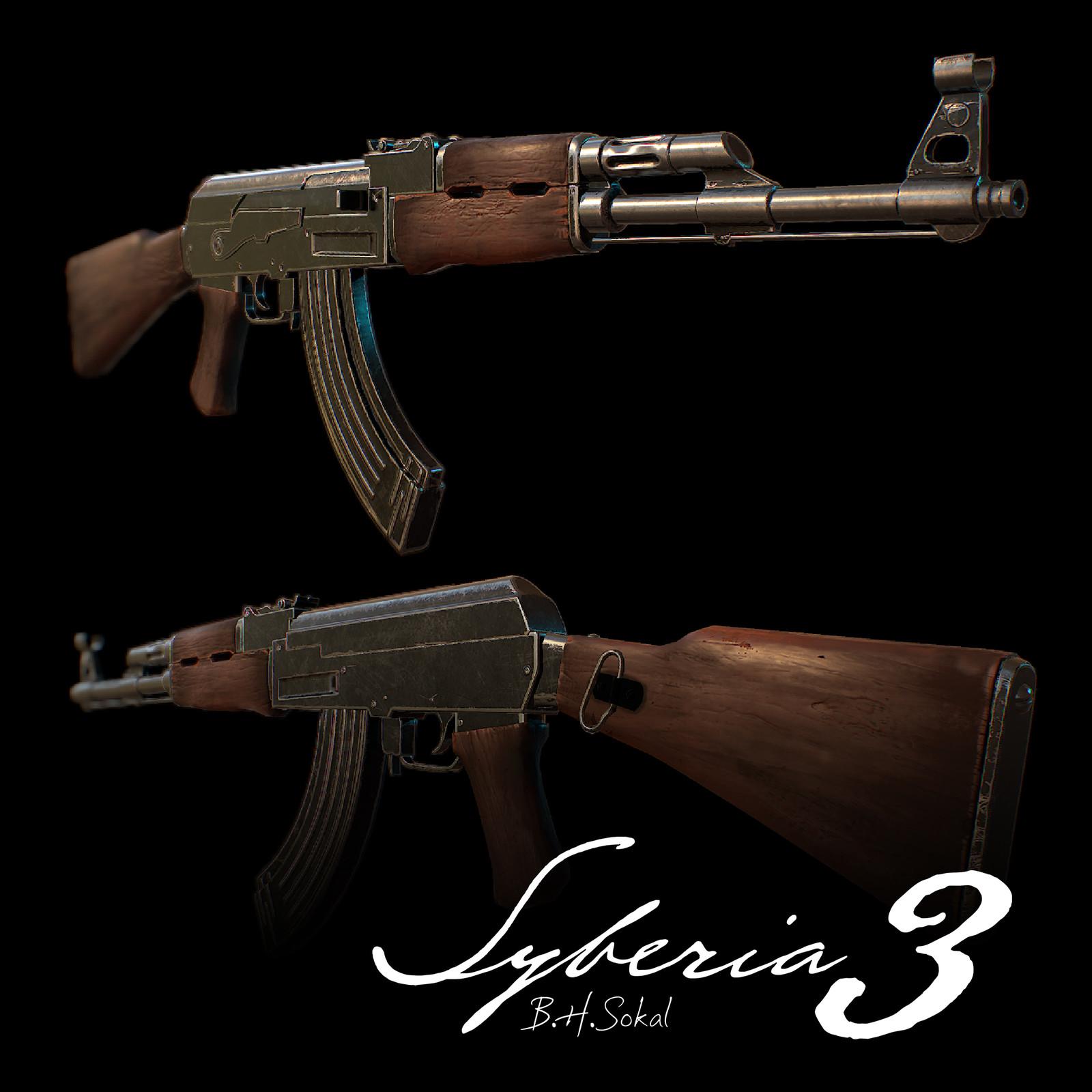 Syberia 3: AK47