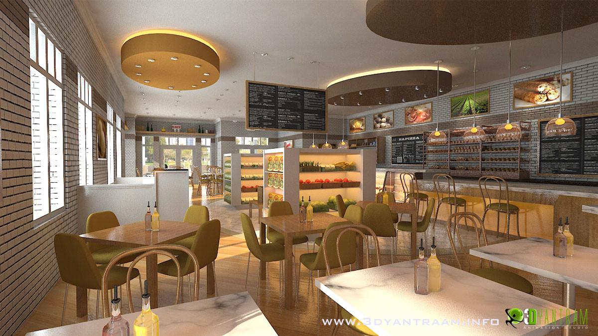 Artstation Interesting 3d Cgi Design For Food Court For