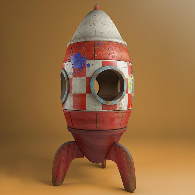 Rocket toy