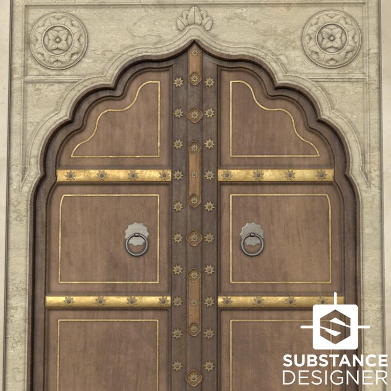 Substance Challenge - Ornate Door