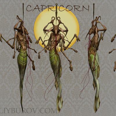 Vitaliy burov capricorn textured