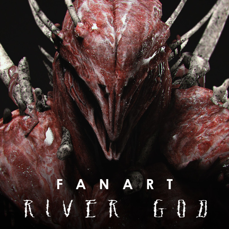 FAN ART: River God Renders and Collectible Presentation
