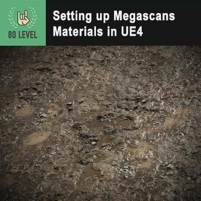 Ue4 Mud Material