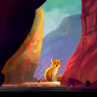 Heloise labbe suspicious fox light web