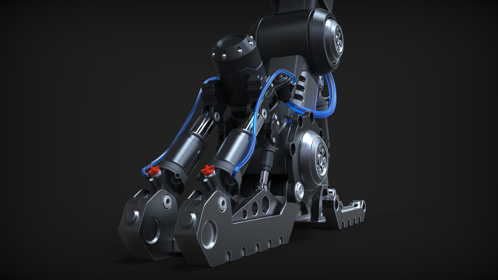 The Reaper - Hardsurface Landing Gear