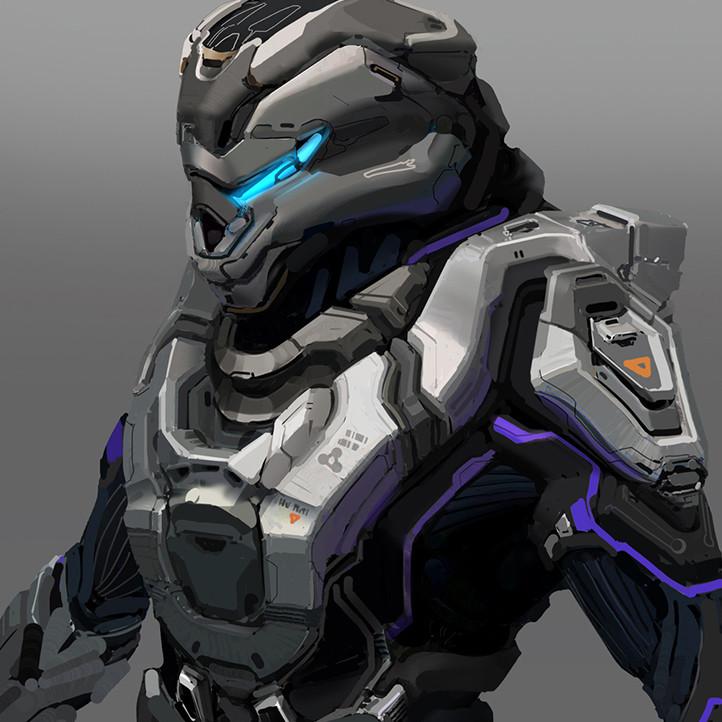 Suit and helmet variants