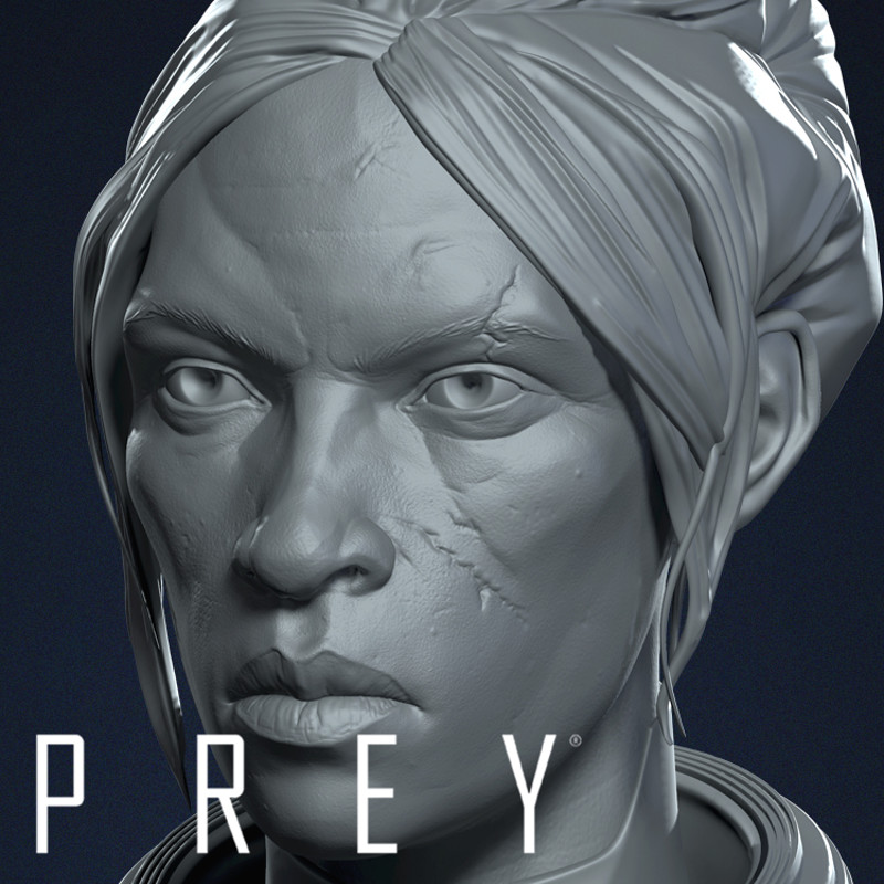 PREY - Head Sculpts