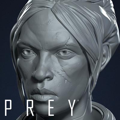 PREY - Head Sculpts
