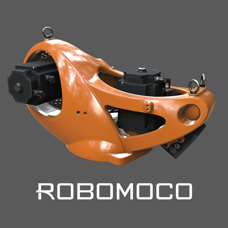 KUKA Quantec Painting for RoboMoco