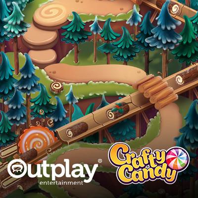 Crafty Candy maps