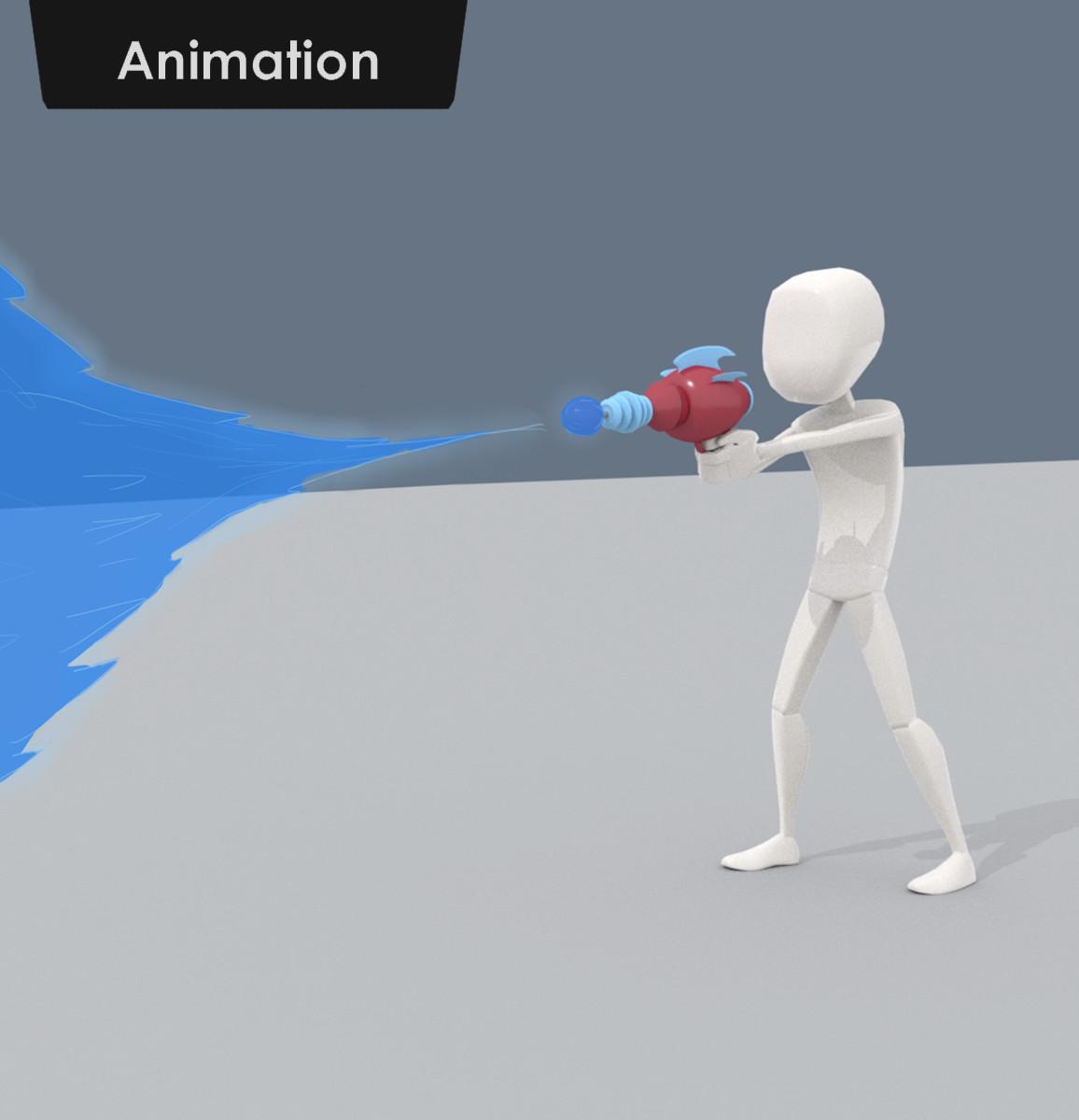 Laser Blast Animation