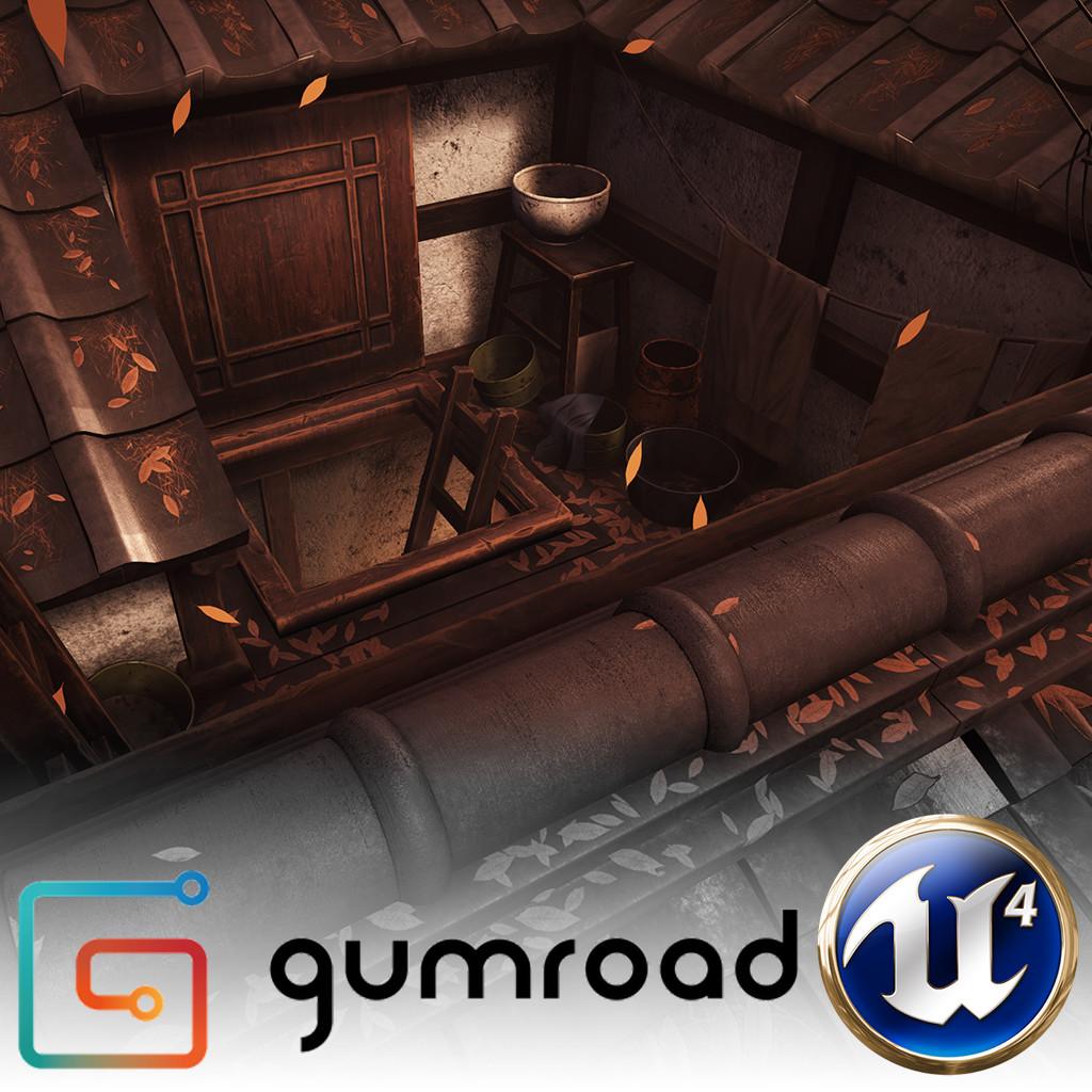 Gumroad - UE4 Japan Environment