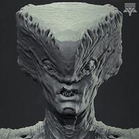 ArtStation - Blend Shapes Klingon in Unity, Alexander Tobler