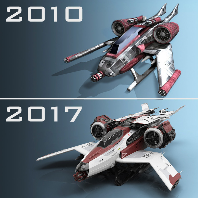 7 years of 3D