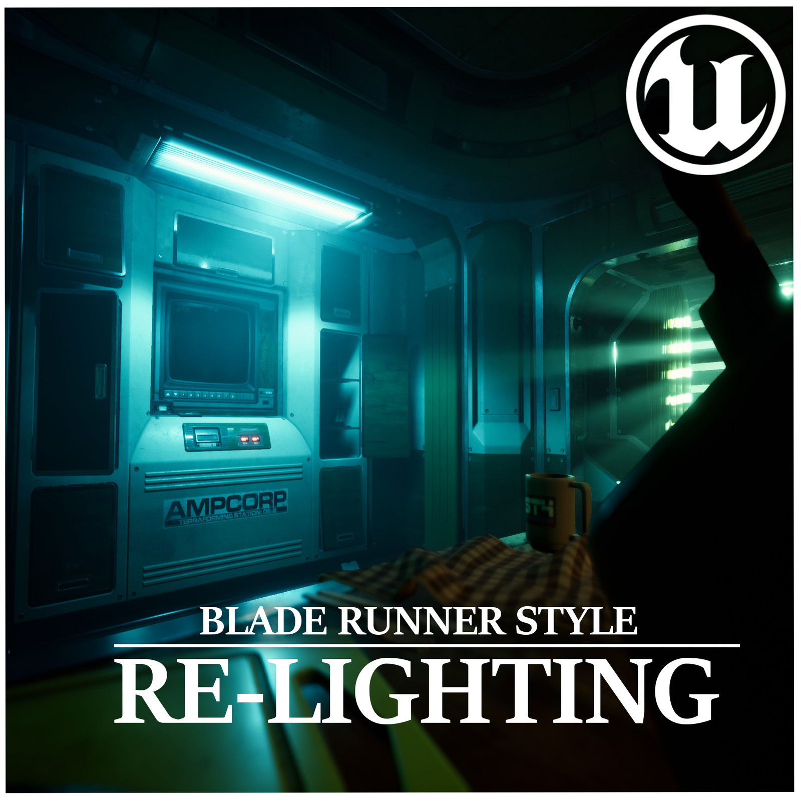 UE4 Blade Runner Style Lighting | Liam Tart's Sci-Fi Bunk - Cyberpunk ReLight