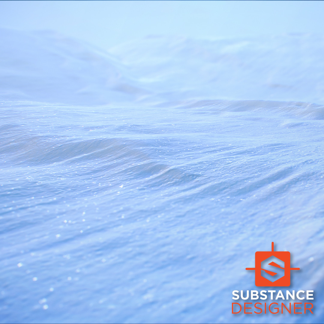 Snow / Substance Designer