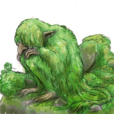 Marianne eie trolls sketches 02