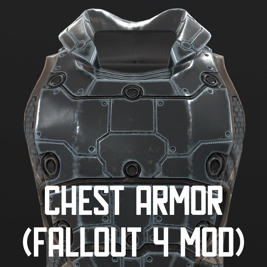 ArtStation - Chest armor (Fallout 4 mod), Mikhail Petaykin