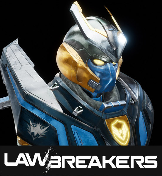 LawBreakers texture work