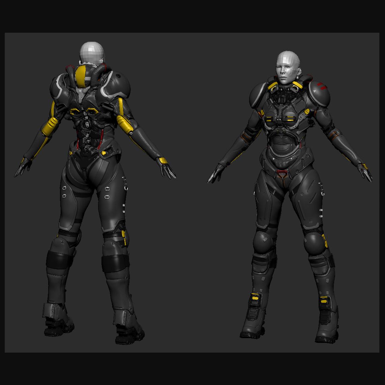 Cyber Armor WIP