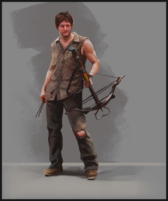 Daryl - Walking Dead sketch