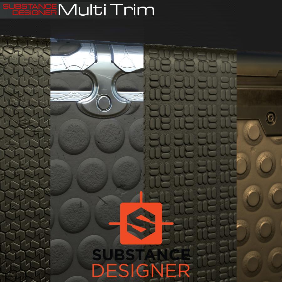 Multi Trim Flooring
