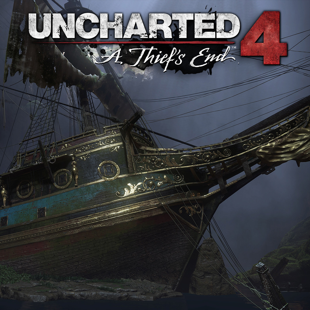 Uncharted 4 - Avery's Cave and Ship