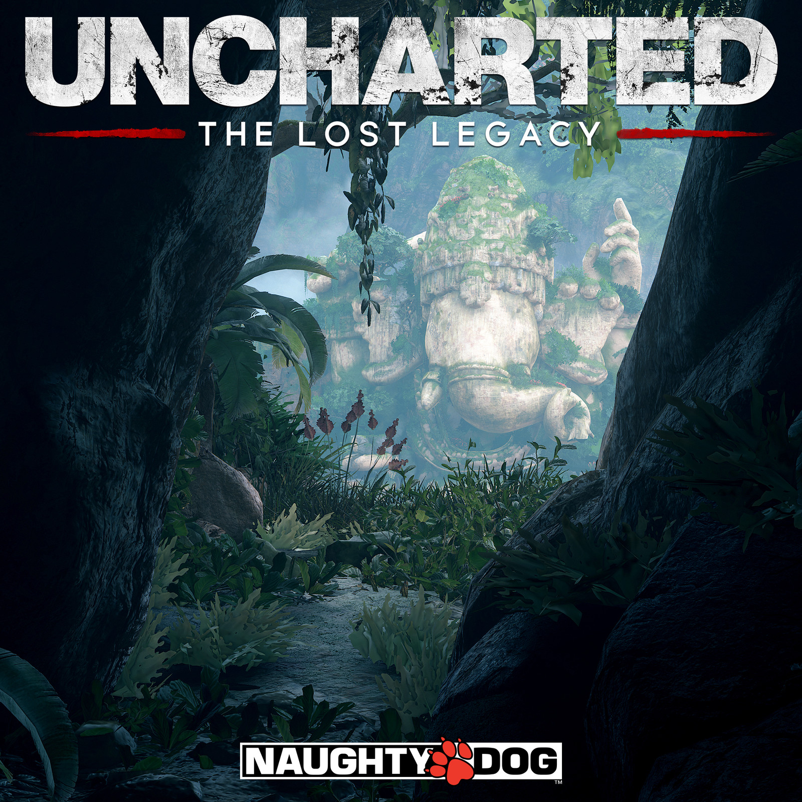 Uncharted The Lost Legacy - Ganesh - city of Halebidu - overcast