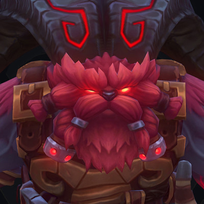 "Ornn ""The Fire below the mountain"" - Ingame model- League of Legends"