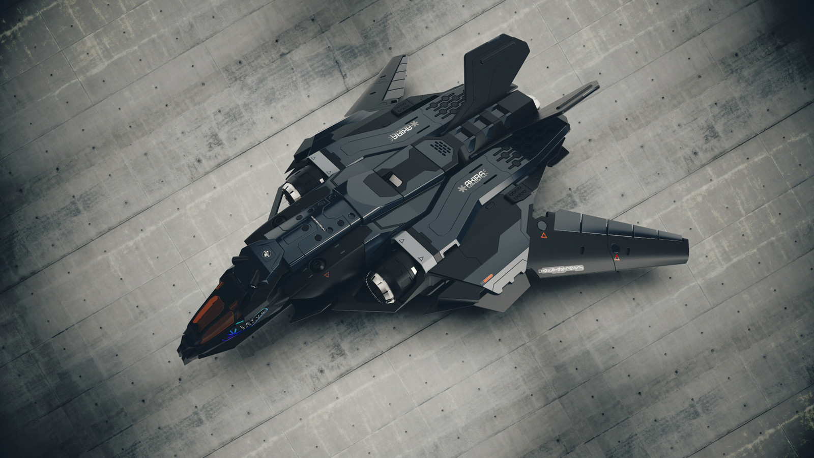 The Reaper - aka Sabre - Harsurface Spaceship