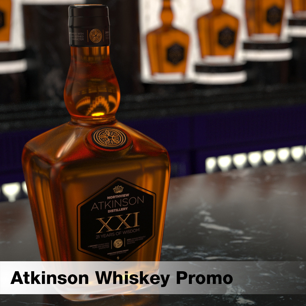 Atkinson Whiskey Promo Test