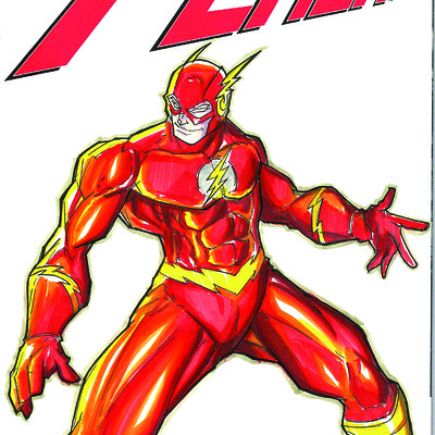 Marcus grant the flash front color