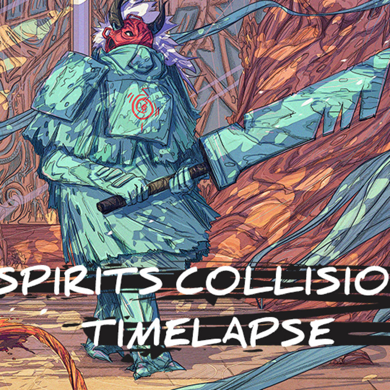 Spirits Collision Time-lapse