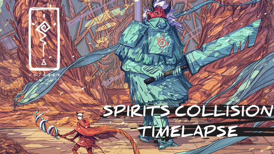 Spirits Collision Time-lapse